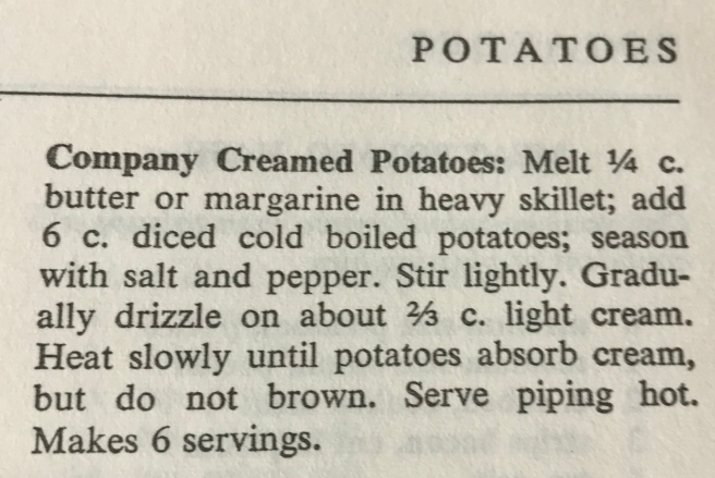 CREAMED NEW POTATOES AND PEAS 002