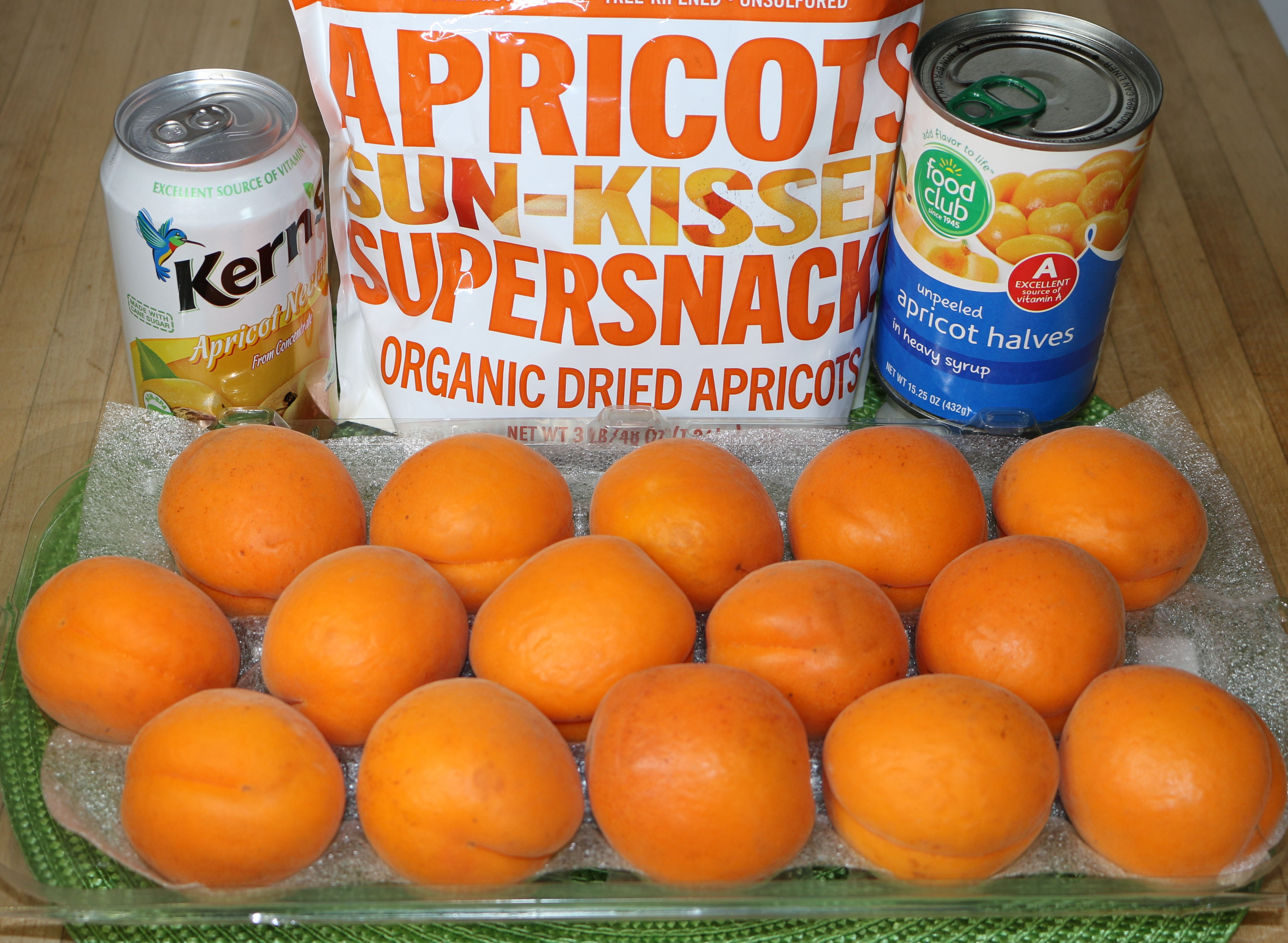 ASSORTED APRICOTS