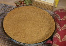 Baked Graham Cracker Crumb Crust