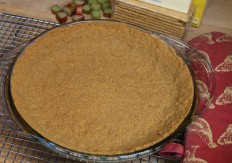 Baked Graham Cracker Crumb Crust