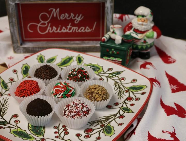 Chocolate Cream CheeseTruffles